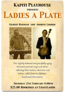 Ladies a Plate poster Kapiti Playhouse