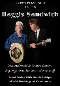 Haggis Sandwich