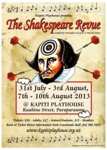 Shakespears Revue Poster