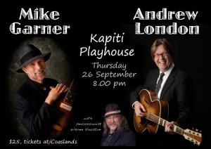 Mike Garner & AL at Kapiti